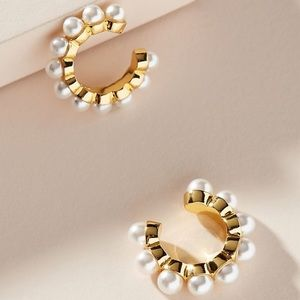 🌞Baublebar Clasina Pearl Ear Cuff Set!🐚